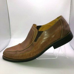 Sandro Moscoloni Mens Size 10 Caramel Shoes Loafer